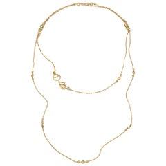 20 Karat Diamond Accent Chain Necklace
