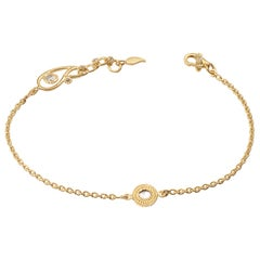 20 Karat Diamond Chain Bracelet