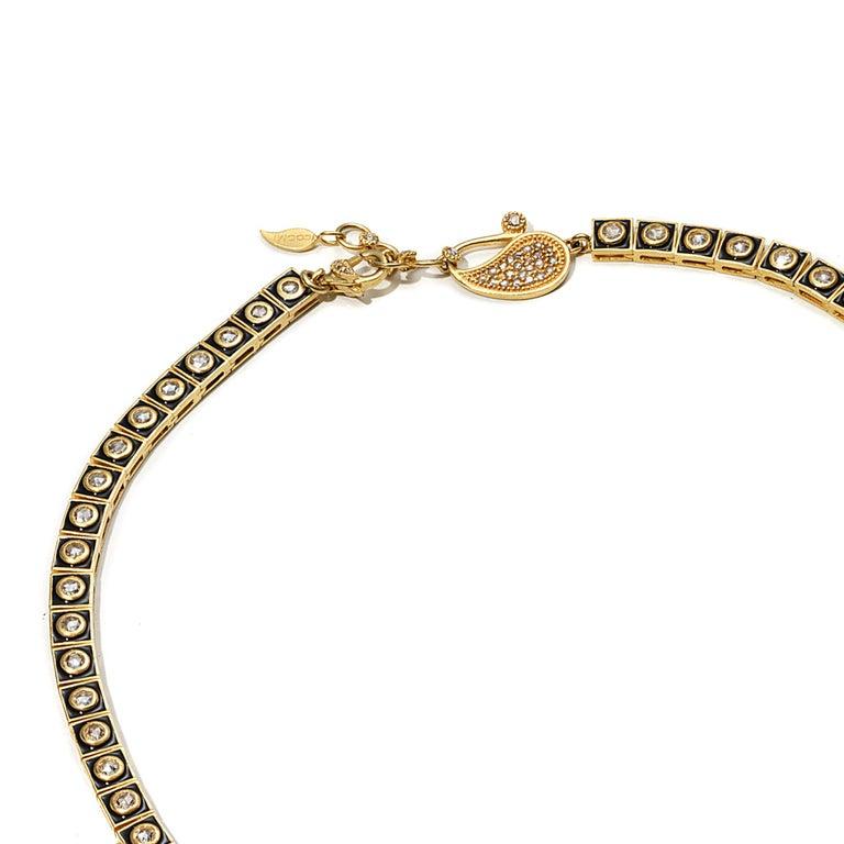 Women's 20 Karat Emerald and Diamond Sunburst Necklace For Sale