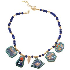 20 Karat Five Sunsets Necklace
