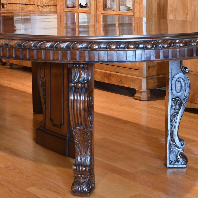 Furniture Sale New York: 20' Long New York Belle Époque Extension Dining Table In