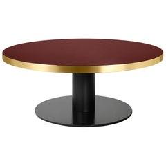 2.0 Lounge Table, Round, Black Base