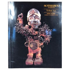 """20 """"Sotheby"""" Auction Catalogs African Oceania Collectors Research, 1991-2001"""