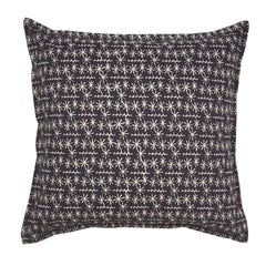 Slate Star Ticket on Wheat Cotton Linen Pillow