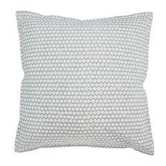 Stone Checker on Cotton Canvas Pillow