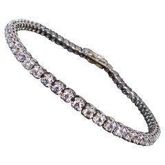2.00 Carat Diamond Tennis Bracelet, Platinum, New and Unworn