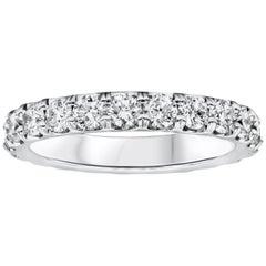 2.00 Carat Round Diamond Eternity Wedding Band