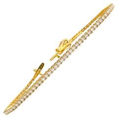 2.00 Carat VVS Diamond Tennis Bracelet