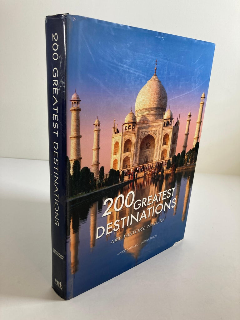 Indian 200 Great Destinations Art, History, Nature Cattaneo, Marco, Coffee Table Book For Sale