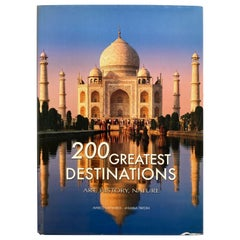 200 Great Destinations Art, History, Nature Cattaneo, Marco, Coffee Table Book