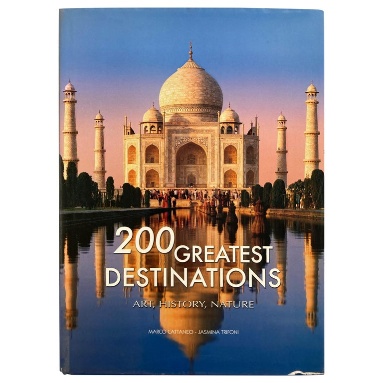 200 Great Destinations Art, History, Nature Cattaneo, Marco, Coffee Table Book For Sale