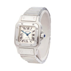 2000 Cartier Santos Galbee Stainless Steel 2423 Wristwatch