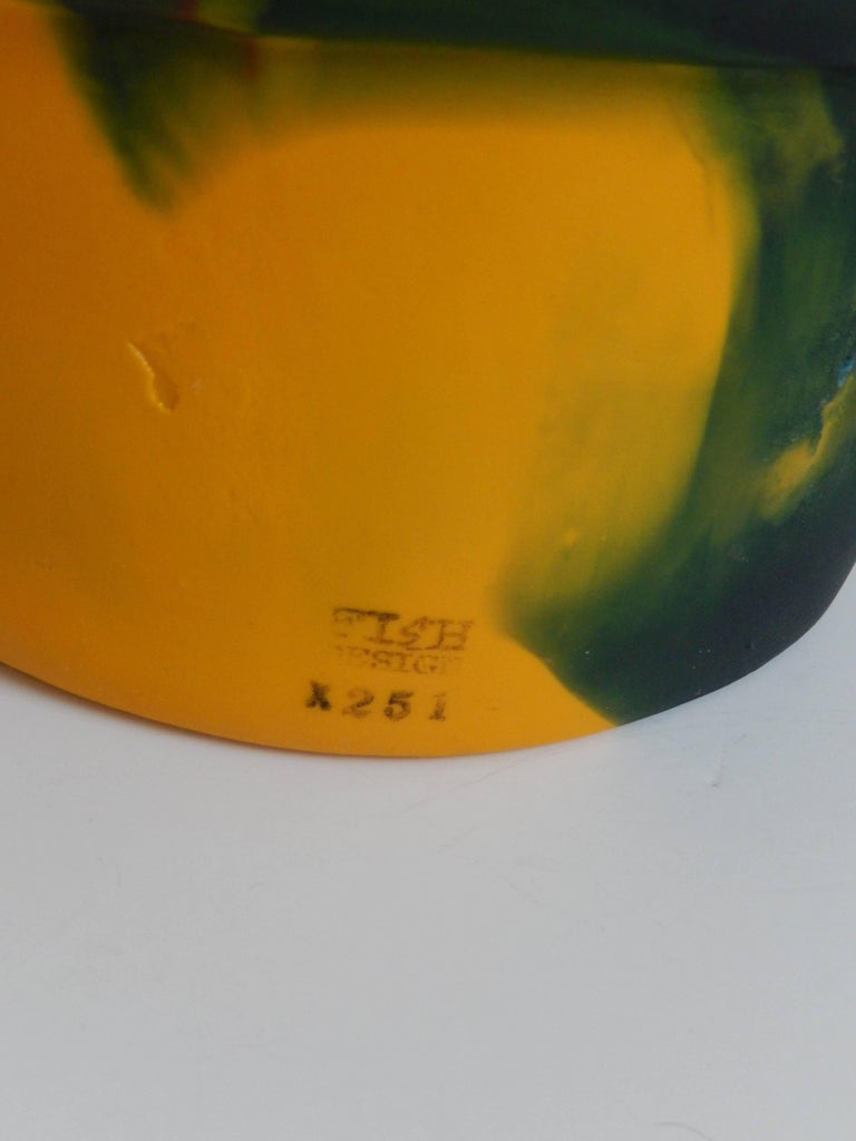 2000 Commemorative Gaetano Pesce Multicolored Resin Bucket For Sale 2
