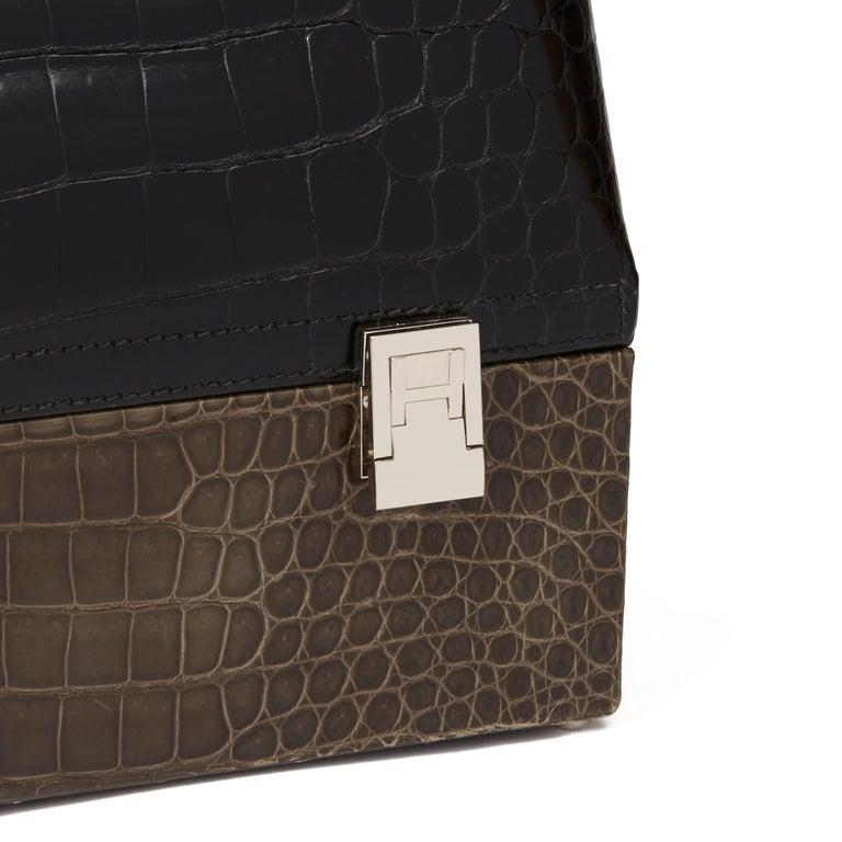 2000 Hermès Shiny Porosus Crocodile Vintage Special Order Macpherson For Sale 1