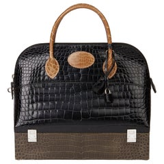 2000 Hermès Shiny Porosus Crocodile Vintage Special Order Macpherson