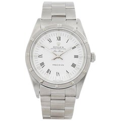2000 Rolex Air King Stainless Steel 14010 Wristwatch