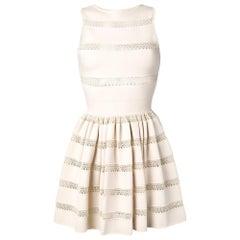2000s Alaïa Lace Dress