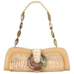 2000s Armani Armadillo Skin Bag