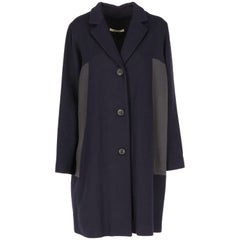 2000s Bally Bicolor Elegant Coat