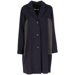 2000s  Bally Blue And Grey Coat