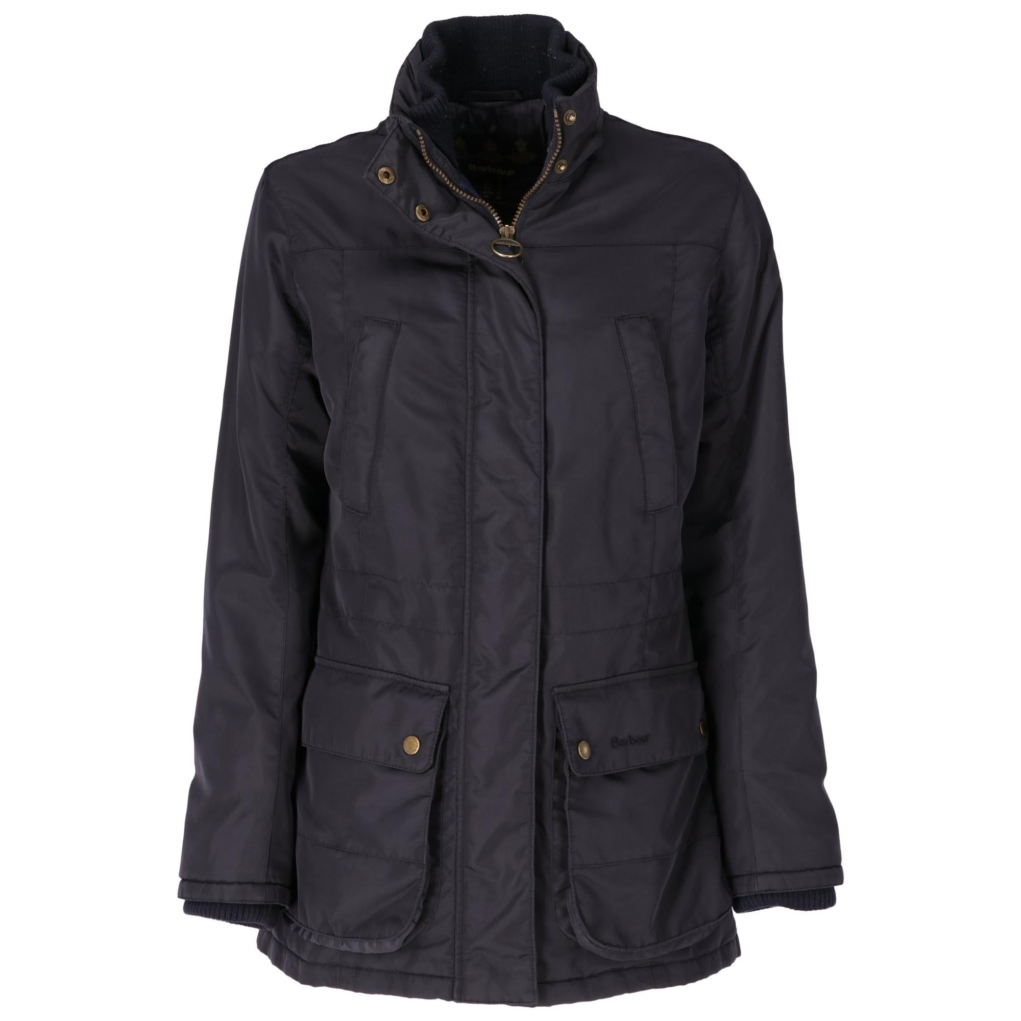 2000s Barbour Blue Padded Coat