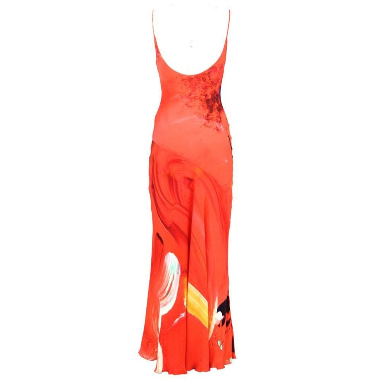 2000s Basso & Brooke Silk Dress In Excellent Condition For Sale In Lugo (RA), IT
