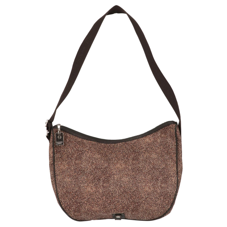 2000s Borbonese Luna Shoulder Bag