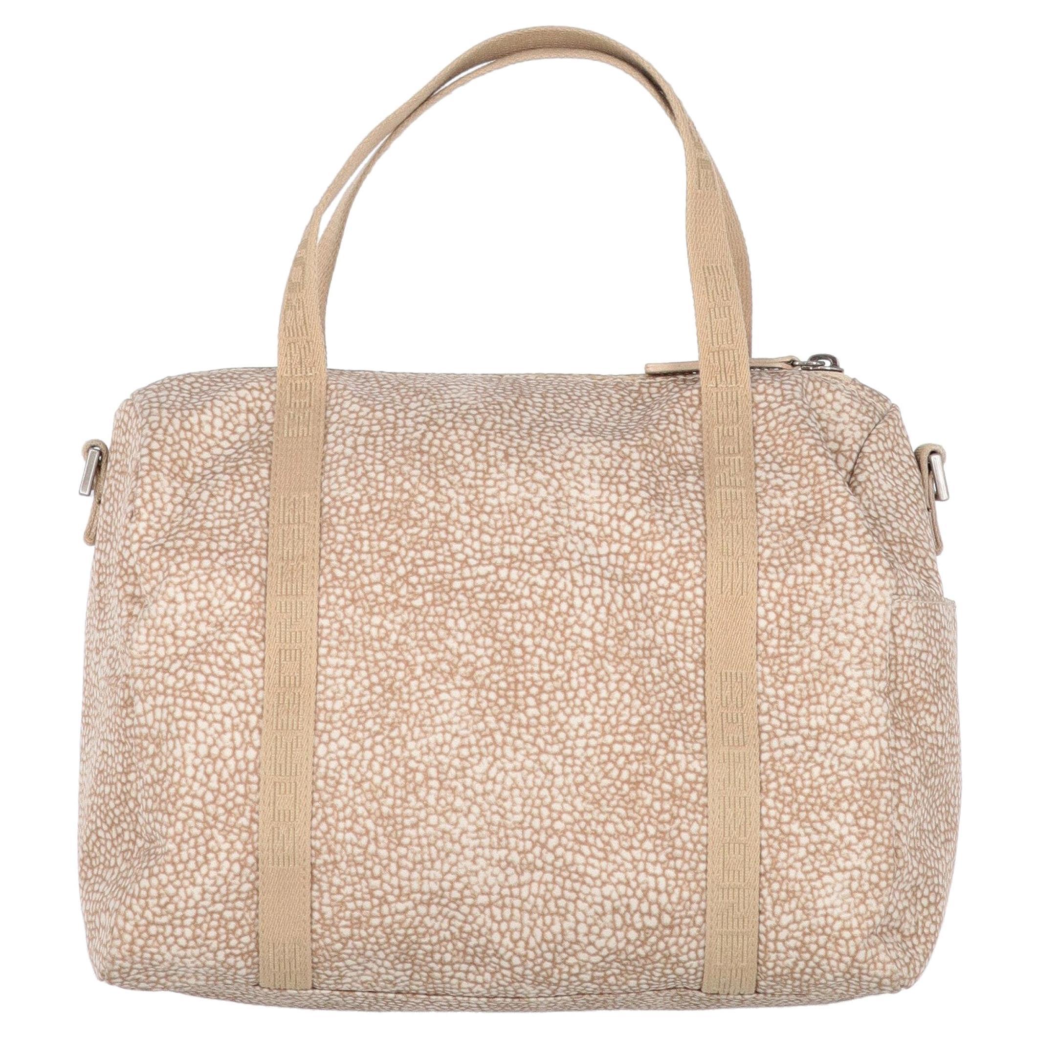 2000s Borbonese OP Print Carry-all Bag