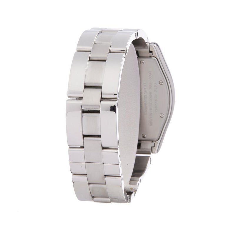 2000s Cartier Roadster Stainless Steel 2510 or W62002V3 Wristwatch For Sale 1