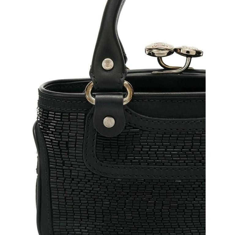 2000s Céline Black Handbag In Good Condition For Sale In Lugo (RA), IT
