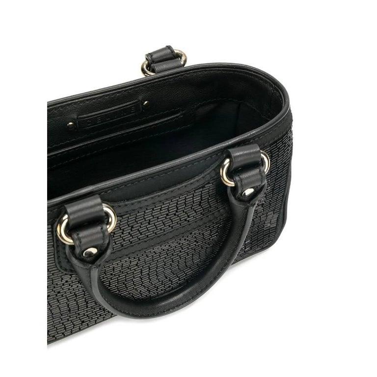 Women's 2000s Céline Black Handbag For Sale
