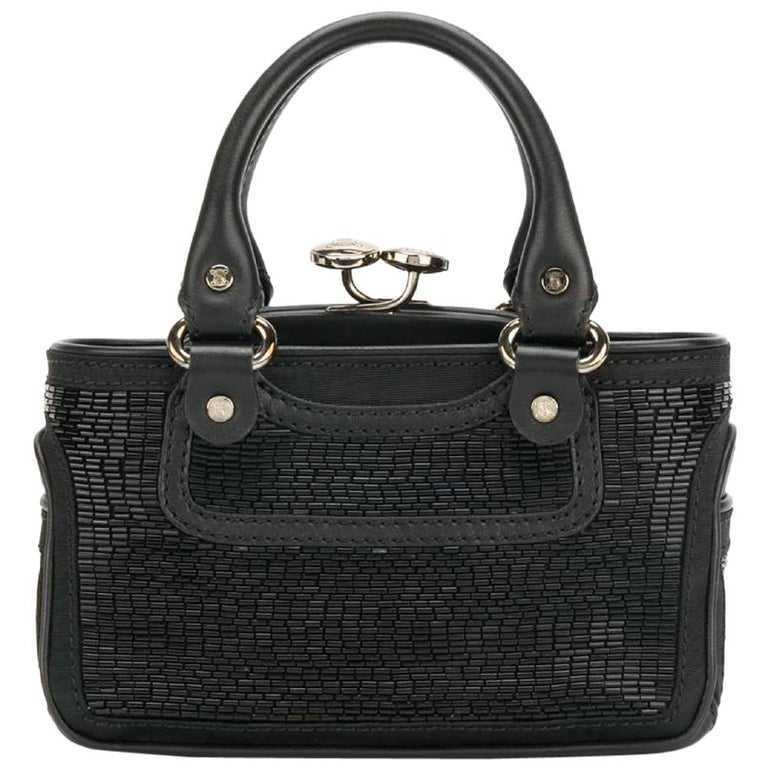 2000s Céline Black Handbag For Sale
