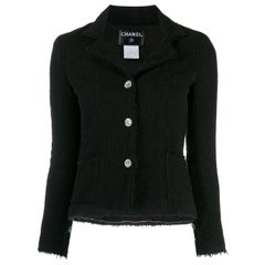 2000s Chanel Black Jacket