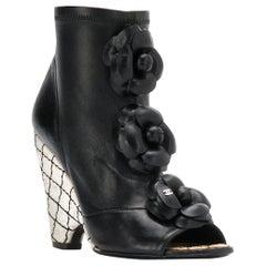 2000s Chanel Platform Booties