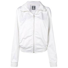 2000s Chanel White Jacket