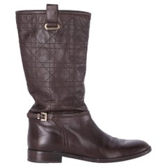 2000s Christian Dior Brown Boots