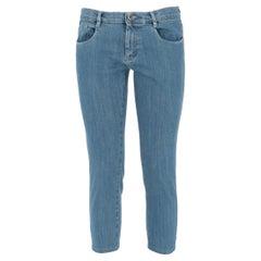 2000s Denim Capri Trousers