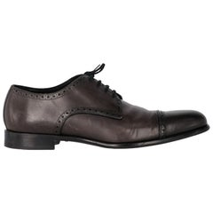 2000s Dolce & Gabbana Leather Lace-up Shoes