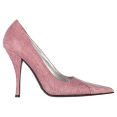 2000s Dolce & Gabbana Pink Leather Pumps