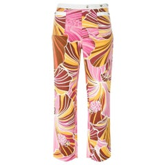 2000s Dolce & Gabbana Printed Trousers