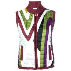 2000s Emilio Pucci Quilted Vest