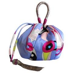 2000s Emilio Pucci Sachette Scarf Bag