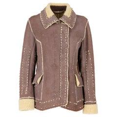 2000s Ermanno Scervino shearling jacket