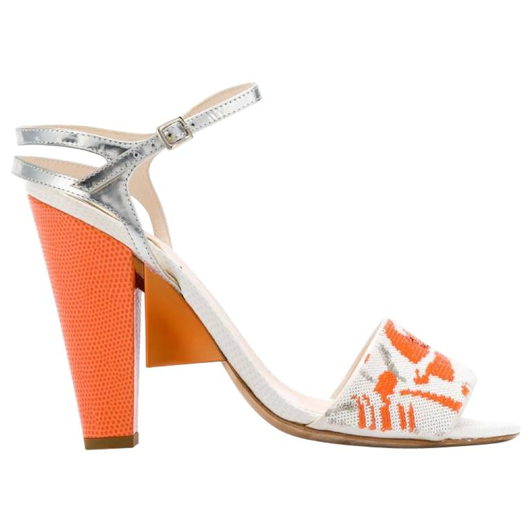 2000s Fendi Heel Sandals