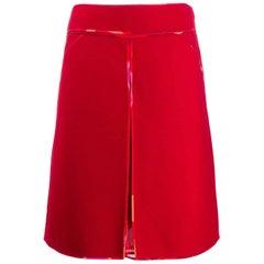 2000s Fendi Trapeze Skirt