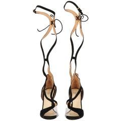 2000s Francesco Russo Black Sandals