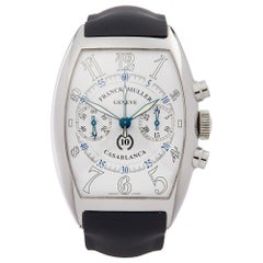 2000s Franck Muller Casablanca 10th Anniversary Chronograph Stainless Steel