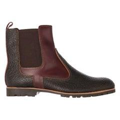 2000s Gianfranco Ferré Brown Chelsea Boots