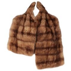 2000s Gianfranco Ferré Marten Fur Scarf