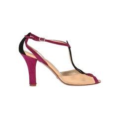 2000s Giorgio Armani Leather Sandals